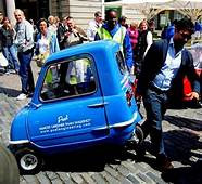 The Flying Tortoise Worlds Smallest Car On Road