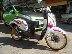 Scoopy 2016 Modif by Contoh Modifikasi Motor Scoopy Ala Ala Thailook Style