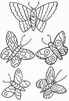 Malvorlage Schmetterling Einfach Schmetterlinge Zum Ausdrucken Malvorlagentv