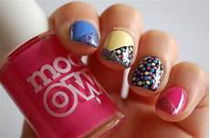 in samazement rainbow polka dot nail art tutorial