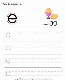 lowercase letter e worksheets 24621 lowercase alphabet writing practice e worksheet turtle diary