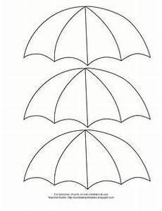 Gratis Malvorlagen Regenschirm Craft Regenschirm Vorlage Schule Vorlagen