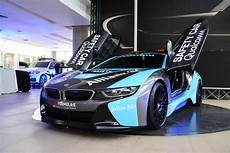 e auto bmw the qualcomm safety car bmw i8 coupe gets a facelift