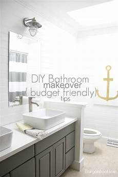 diy gray bathroom makeover budget friendly tips www bargainhoot com love the anchor bathroom