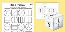 fraction worksheets year 2 free 4176 year 2 roll a fraction worksheet