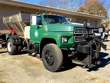 Ford F8000 Dump Truck 1 Town Owner 45k Original Miles For
