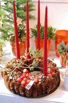 adventskranz basteln das highlight in der adventszeit