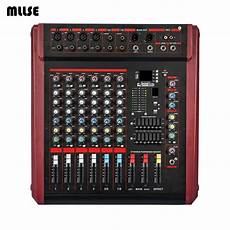 700w Power Audio Mixer 8 Channel For Professional Stage