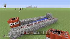 How To Build A Simple Tnt Cannon In Minecraft