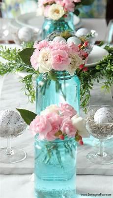 the easiest way to tint mason jars blue get creative