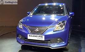Maruti Suzuki Baleno RS 2017 Price In India Launch Date