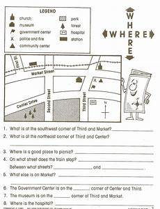 worksheets on directions for grade 4 11747 social studies skills mr proehl s social studies class