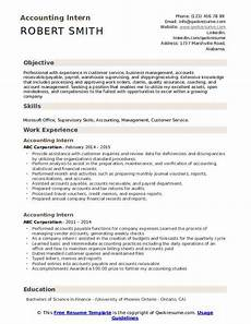 accounting student resume for internship best resume