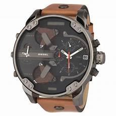 montre diesel diesel montre chronographe quartz dz7332 bracelet cuir