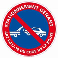 article code de la route panneau stationnement genant r417 10 du code de la
