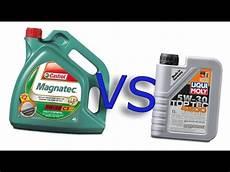 castrol magnatec 5w40 vs liqui moly 4200 toptec 5w30
