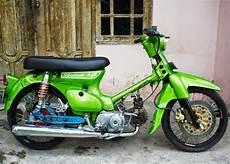 Honda 70 Modif by Koleksi Modifikasi Honda 70 Klasik Terbaik