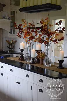 Fall Decorating Ideas For Kitchen by All About The Details Kitchen Home Tour Stonegable