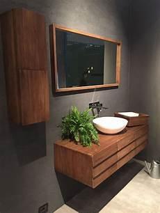 Mid Century Wood Vanity
