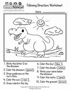 following directions worksheets 11704 following directions worksheet for kindergarten free printable digital pdf