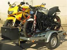 motorrad befestigungs set f 252 r ein bike auf dem anh 228 nger
