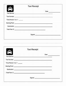 5 taxi cab receipt template pdf word doc excel