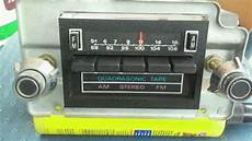 Sell 1970s Ford Lincoln Am Fm 8 Track Quadrasonic Stereo