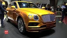 2020 bentley bentayga 626 hp fastest suv exterior and