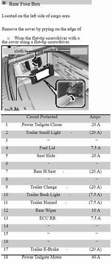 2004 acura tl fuse box l ocasion acura mdx fuse box diagram acurazine