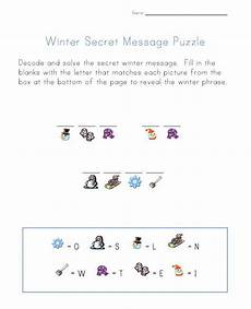 winter cryptogram worksheets 19979 70 best secret codes images on infant activities activities for children and