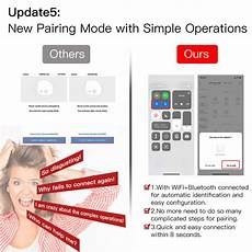 Moeshouse Wifi Rf433 Smart Touch Curtain by Alarm Systems Moeshouse Smart Switch Us Standard Naught