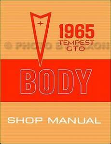 service and repair manuals 1965 pontiac lemans electronic valve timing 1965 pontiac lemans tempest and gto body shop manual