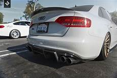 945 00 enlaes audi b8 s4 a4 rear diffuser fiberglass with images audi carbon fiber