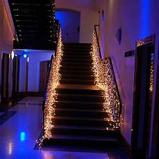 Decorations Lights Windows by Led Waterfall Light Icicle Stripe Window Curtain