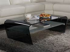 Table Basse Verre Tremp 233 Vente Unique