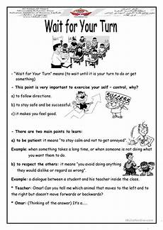 free worksheets to print 18680 wait for your turn worksheet free esl printable worksheets made by teachers
