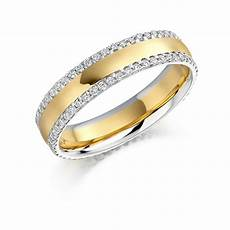 raphael two tone diamond wedding band michael lynes specialist independent jewellers
