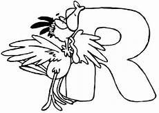 Malvorlagen Buchstaben Mit Tieren Kostenlose Malvorlage Buchstaben Lernen Tierschrift R Zum