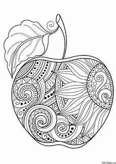 Ausmalbilder Apfel Mandala Resultado De Imagen Para Mandalas De Frutas Dificiles