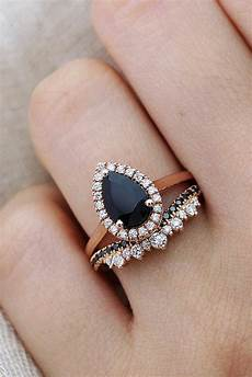 24 unique black diamond engagement rings oh so