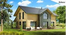 plan maison ossature bois maison ossature bois lumineuse sur plan le mod 232 le mohave
