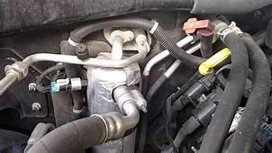 AC Water Drain Locations Tahoe Suburban Silverado Musty