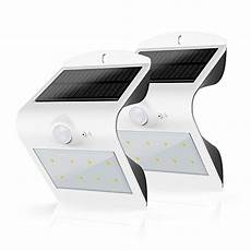honesteast solar lights outdoor solar powered motion sensor security wall light white 11street
