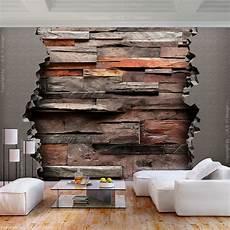 steinwand tapete wohnzimmer heimwerker vlies fototapete stein optik steinwand grau