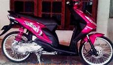 Modif Beat Karbu by Modif Motor Beat Karbu Warna Biru Frameimage Org