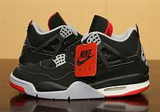 jordan 4 quot bred quot black red nike air 2019 release info sneakernews com
