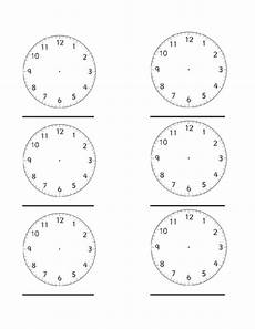 blank clock faces by heather2209 teaching resources tes