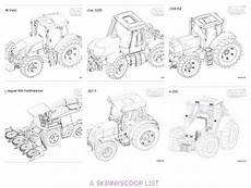 bruder tractor coloring pages tractor coloring pages