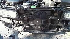 bmw e38 auxiliary fan not working