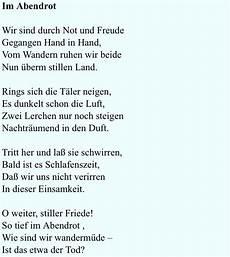 im abendrot joseph eichendorff 1841 poetry